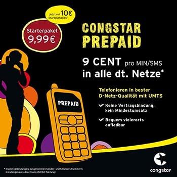 congstar Prepaid SIM Karte