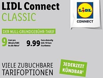 LIDL Connect Prepaid SIM Karte